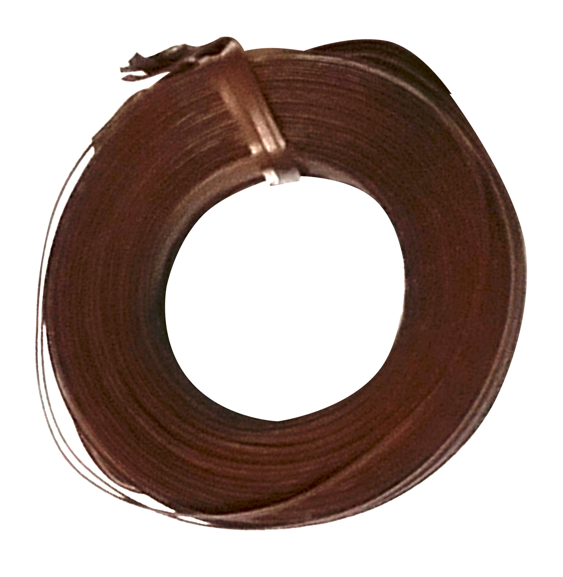 Zenport Electric Tying Tool Tie Wire ET1-WIRE1 295-Feet Brown PVC Covered Twist Tie Wire