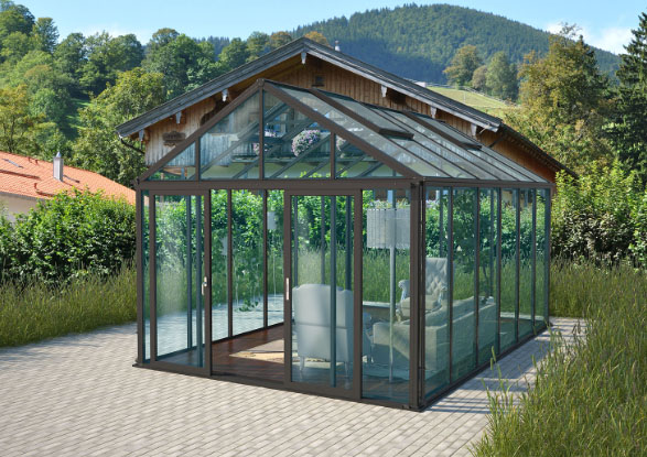 Zenport Versailles Sunroom SH1001D, 15.3 X 10.5-Foot