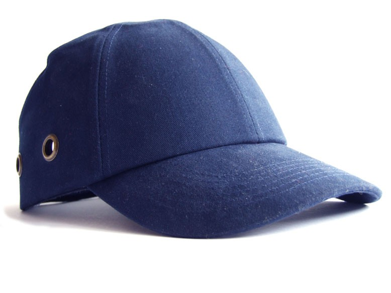 Bump Cap SM913 Vented Baseball Style, Blue, Protective Head Wear