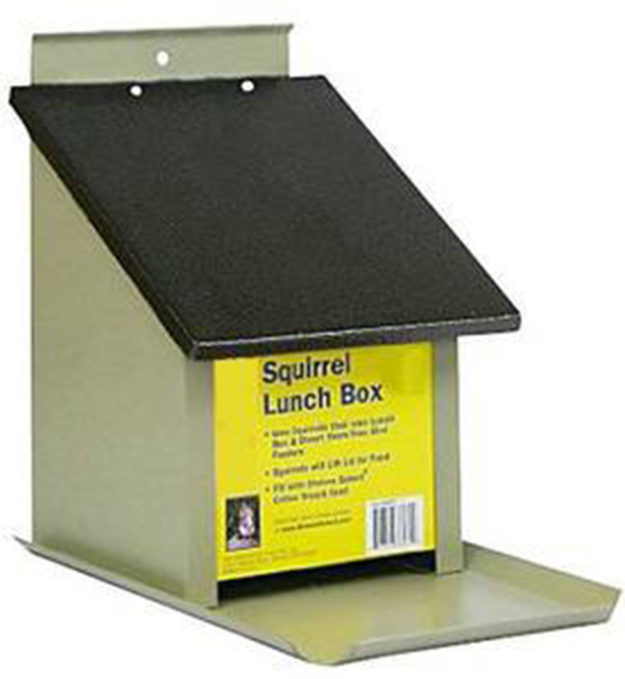 Zenport Bird Feeder Z38079 Lunch Box Squirrel Feeder