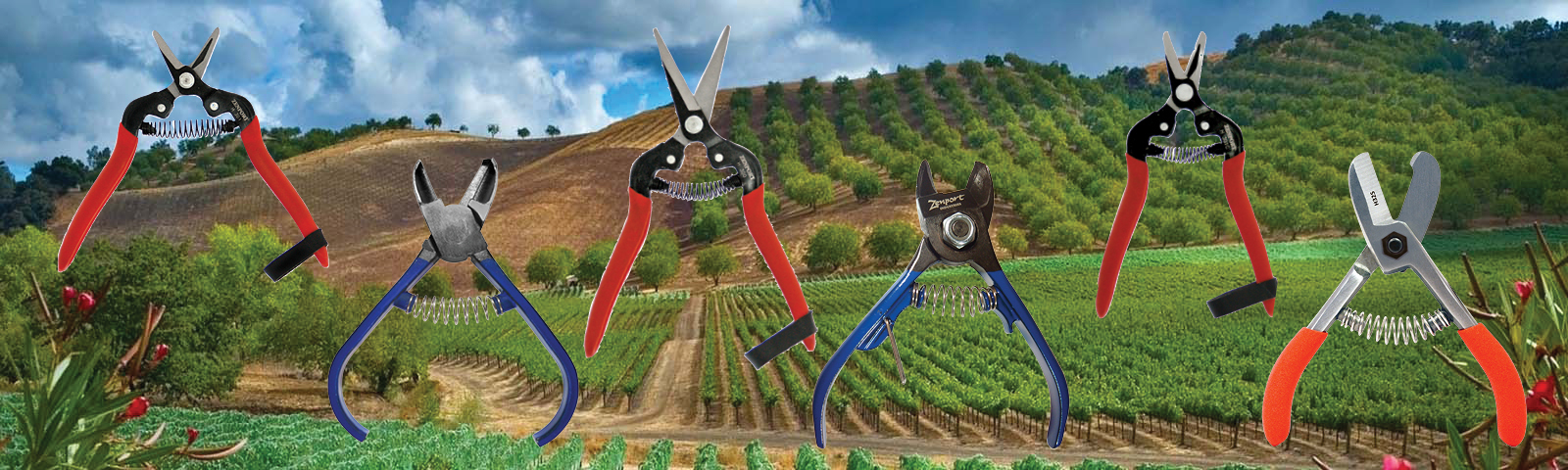 Harvest Shears and Stem Clippers