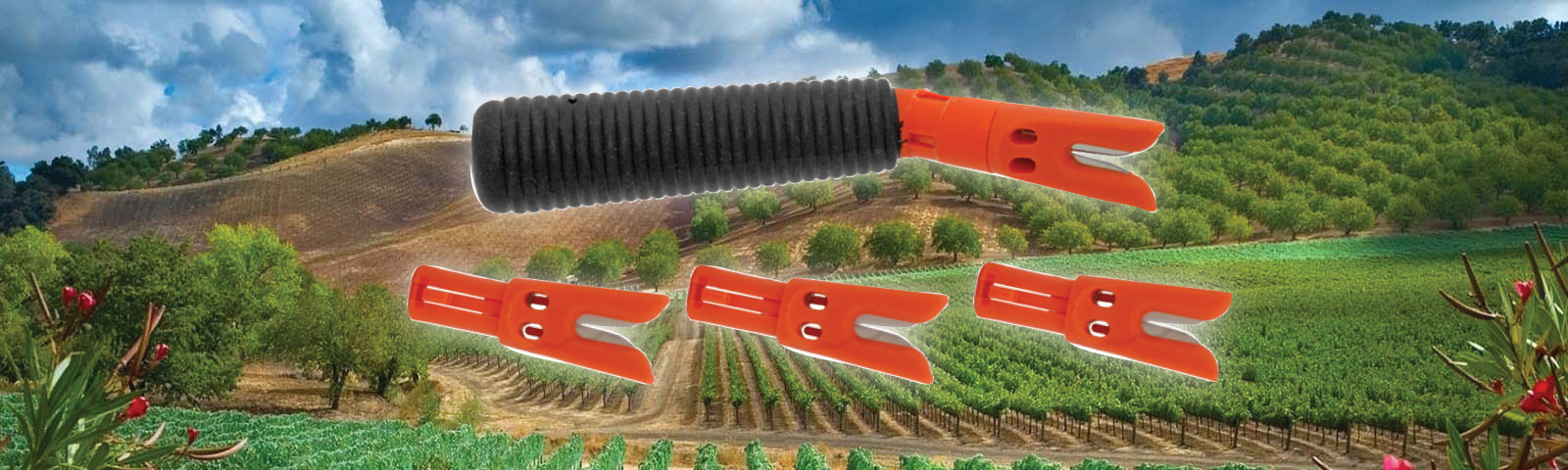 Grape Razor Vineyard Safety Harvest Tool