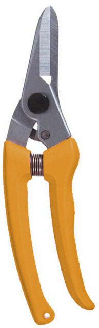Zenport Q140DX1 Box of 60, Hoof Trimming Shears, Orange Handle, Floral Bunch Cutters, 7-Inch