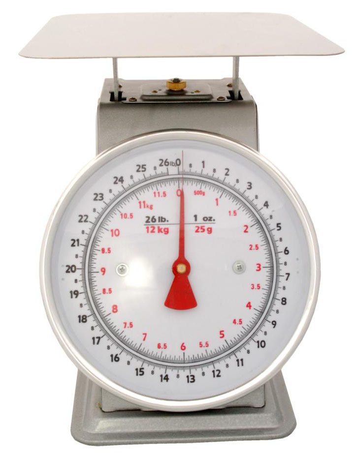 Zenport Accuzen Scale AZD25 Mechanical Platform Dial Scale, 25 Pound, For weighing fruits and vegetables