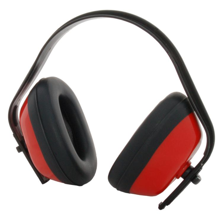 Zenport EM101 Standard Red & Black Ear Muff Ear Protection