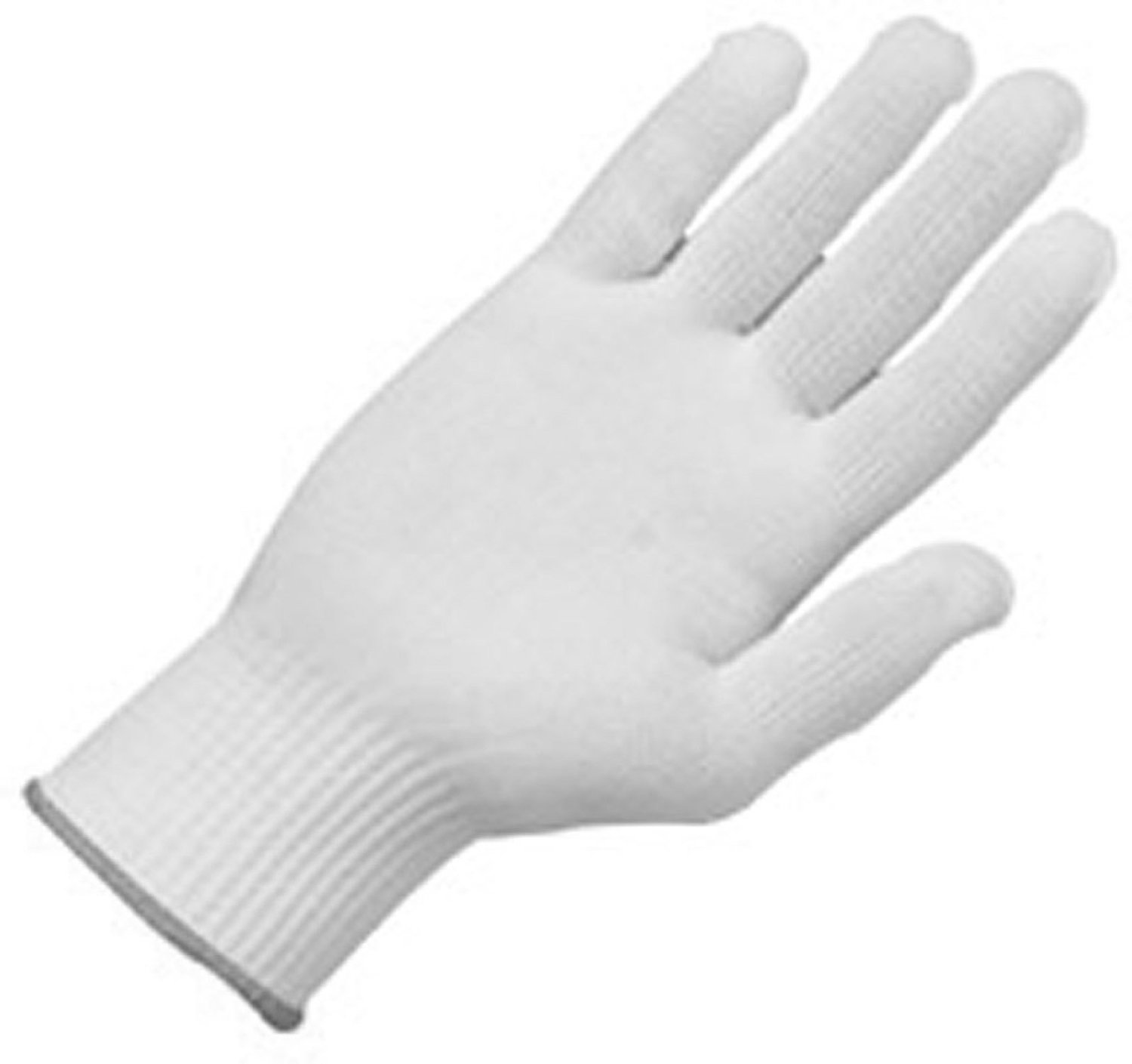Zenport Gloves GN025 12 Pair Full Finger Gloves, Glove Liner, 10 Gram Nylon Construction