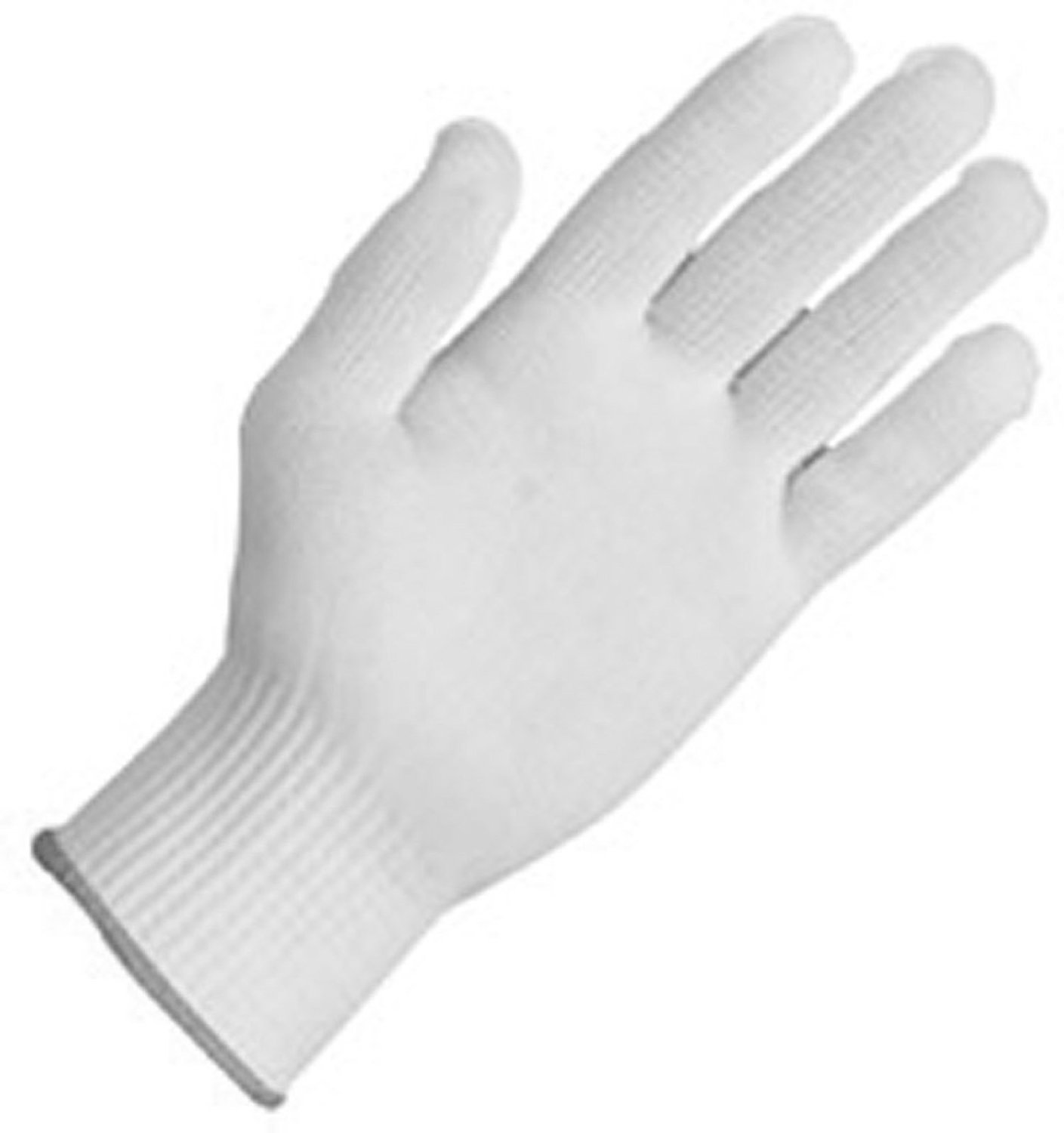 Zenport Gloves GN026 12 Pair Full Finger Gloves, Glove Liner, 10 Gram Tetoron Polyester Fiber Construction