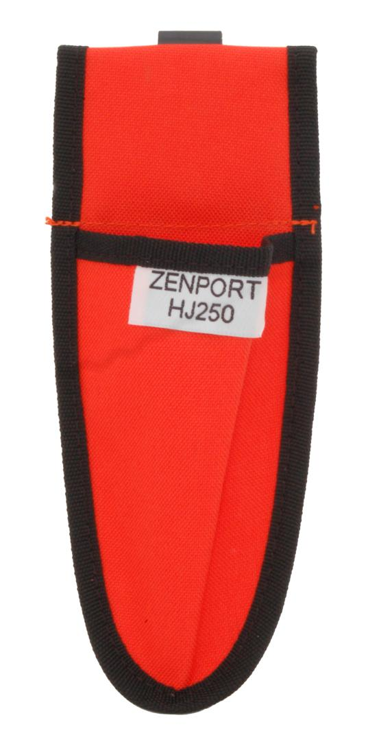Zenport Holster HJ250 Pruner Folding Saw Sheath with Metal Belt Clip, Safety Orange