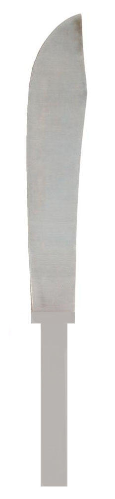Zenport Knife Blade K118-B 7.75-Inch Stainless Steel Butcher Knife Blade Only for Harvesting Row Crops