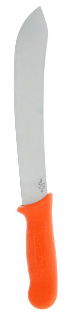 Zenport Harvest Knife K119 Butcher/Field Harvest Knife, Stainless Steel, 10-Inch Blade