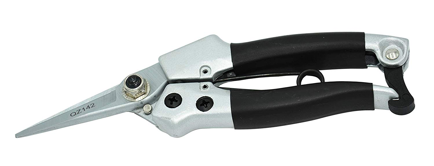 Zenport Pruner QZ142 Hoof Trimmer, Floral Bunch Cutter, 7-Inch