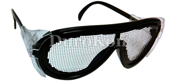 Zenport SG2635 Steel Wire Mesh Adjustable Fog Free Safety Glasses