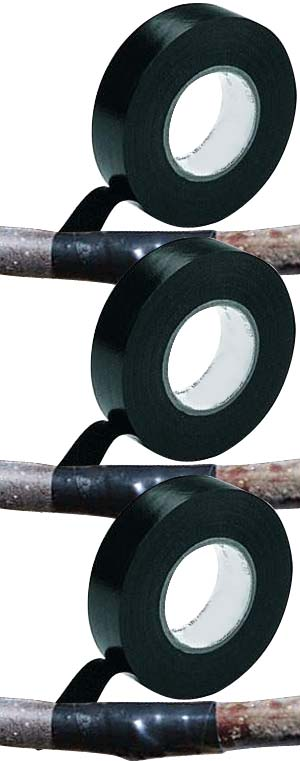 Grafting Tape TK631 Black, 3/4-Inch by 66-Feet Long for Grafting Fruit Trees and Vines