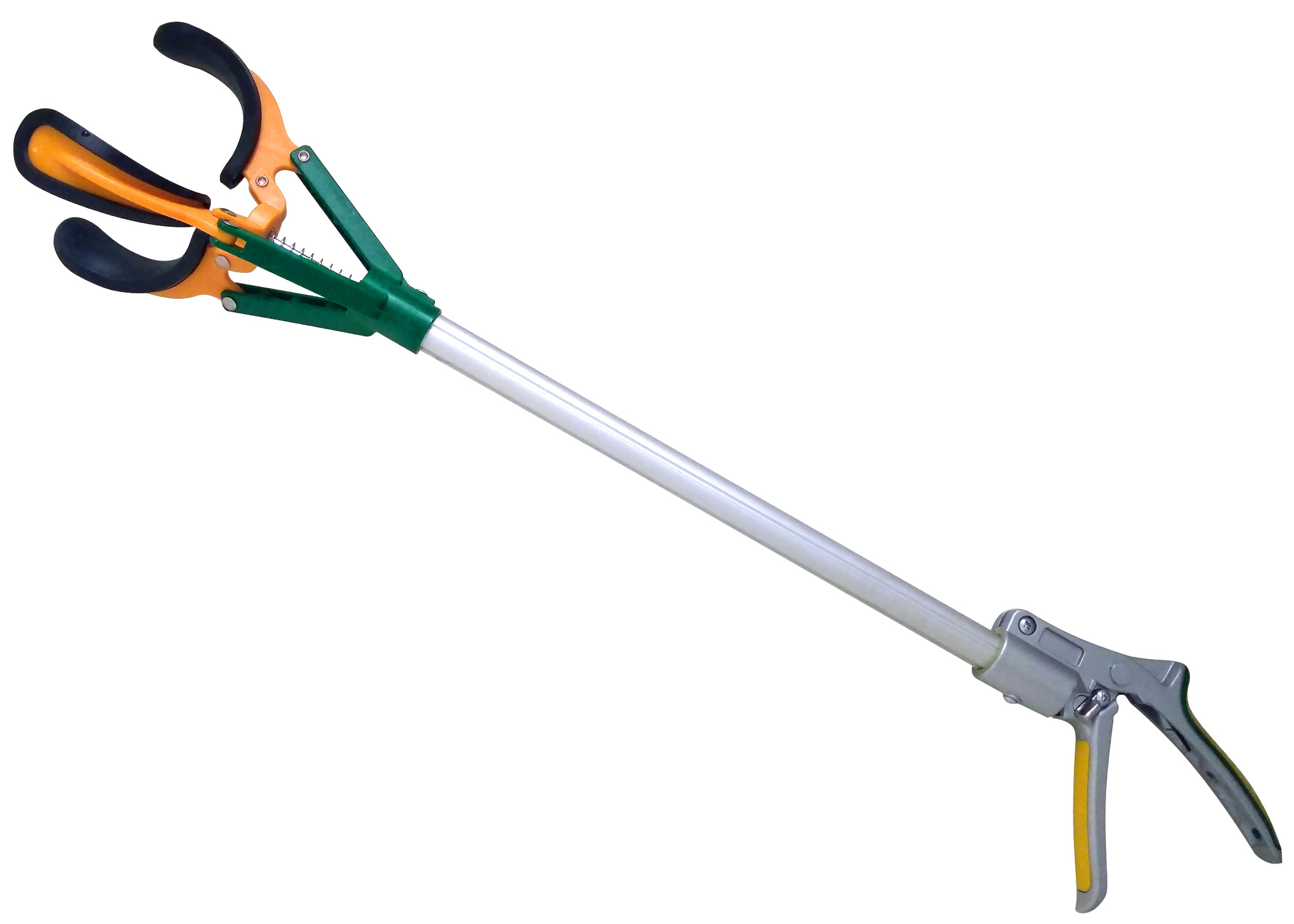 Fruit Picker ZL6146D Long Reach Fruit Harvester, Multi-Function Picker, 28-Inch
