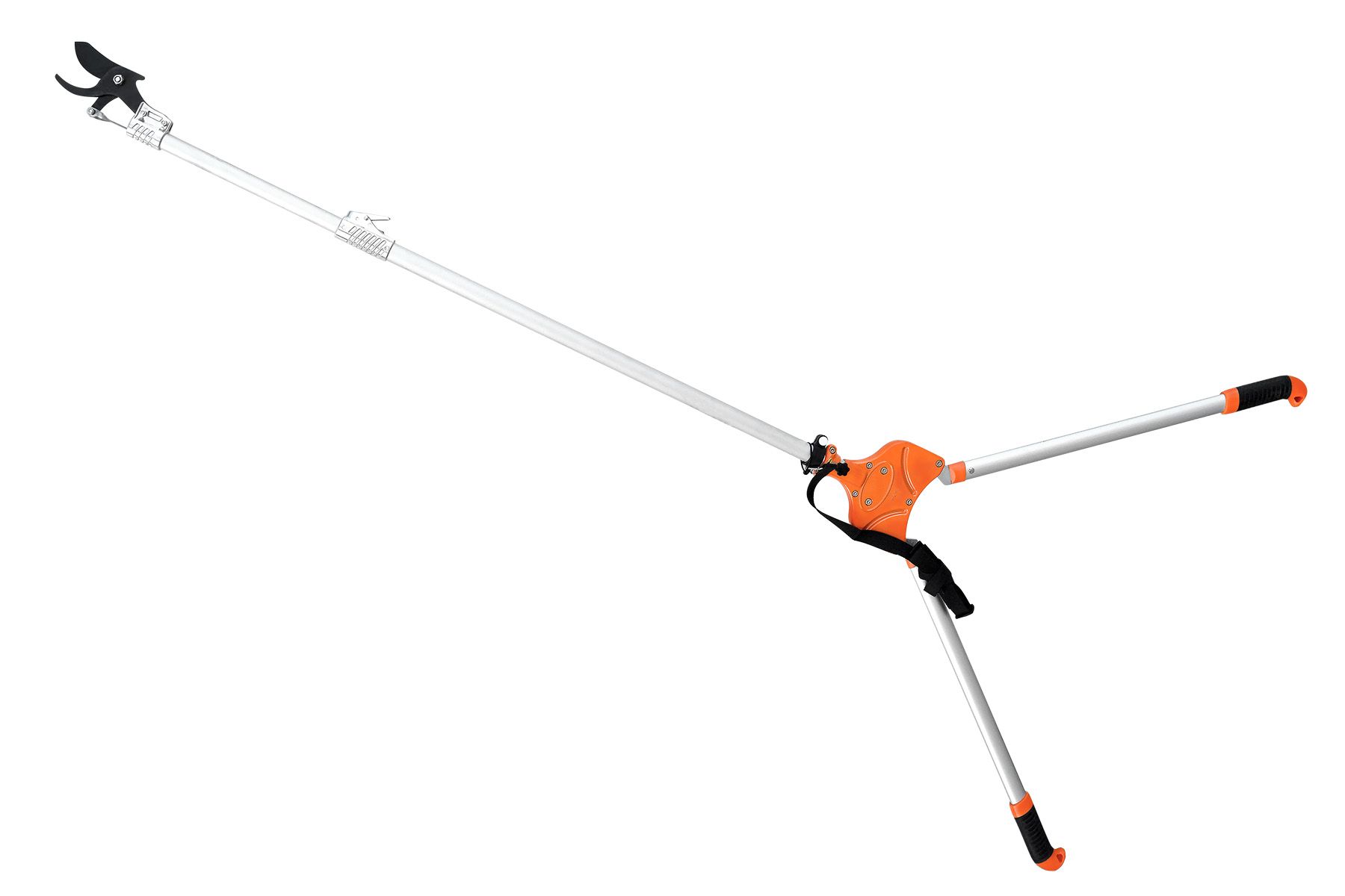 Zenport Long Pruner ZL630 96-Inch Telescopic Two-Handed Heavy Duty Long Reach Pruner, Cut and Hold, For Pruning Fruit Trees