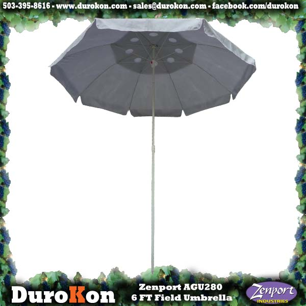 Zenport Umbrella AGU280 6-Foot by 1-inch Pole