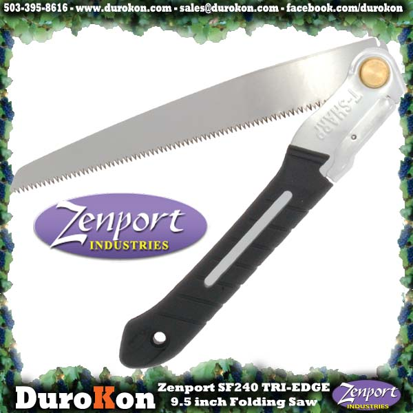 Zenport Saw SF240 9.5 inch Folding Saw w/Steel Handle