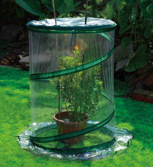 Mini Greenhouse SH3240 26-inch Portable Pop-Up Greenhouse Protects Garden from Frost