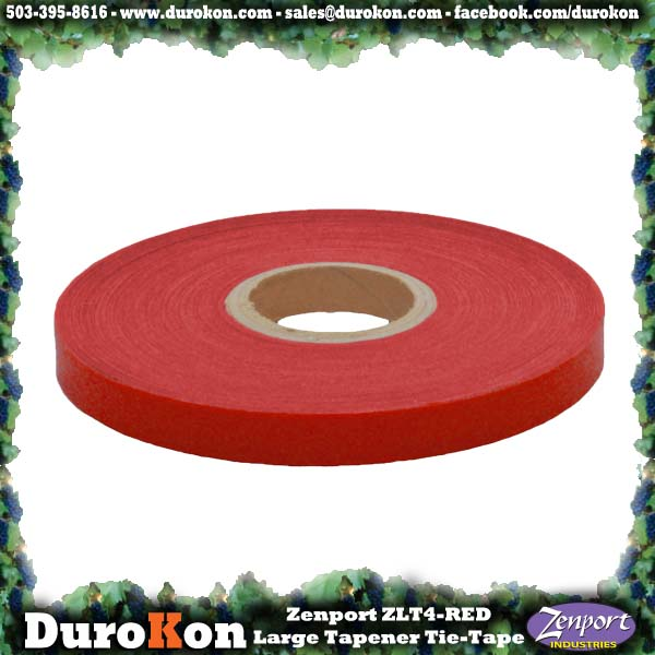 Zenport Tie Tape ZL0025 Large Tapener Red Plant Tie Tape, 80-Feet, 6-MIL (ZL100/ZL919/MAX HTB2 N)