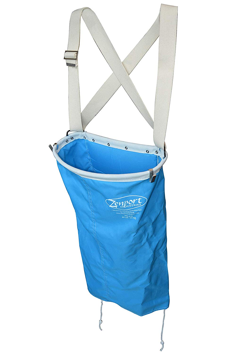 Zenport Picking Bag AG416 AgriKon 44-Pound Wire Rim Soft Shell Harvest Fruit, Pear/Apple Picking Bag