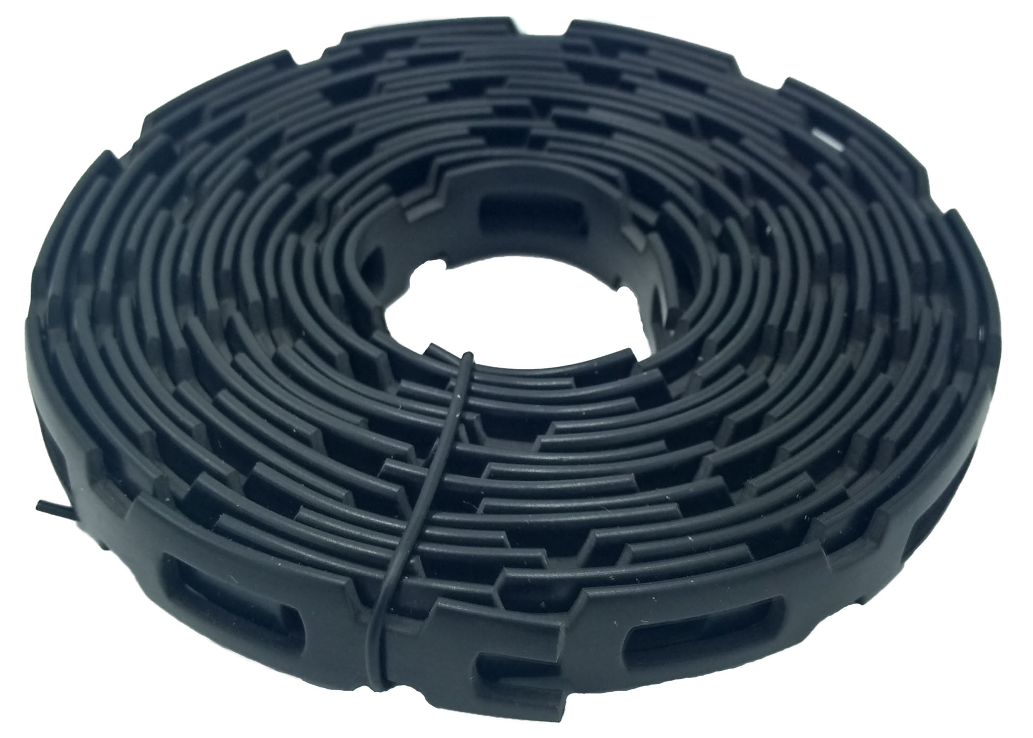 Zenport GA305 Chain Lock Tie, 9.84-Feet Roll, Black