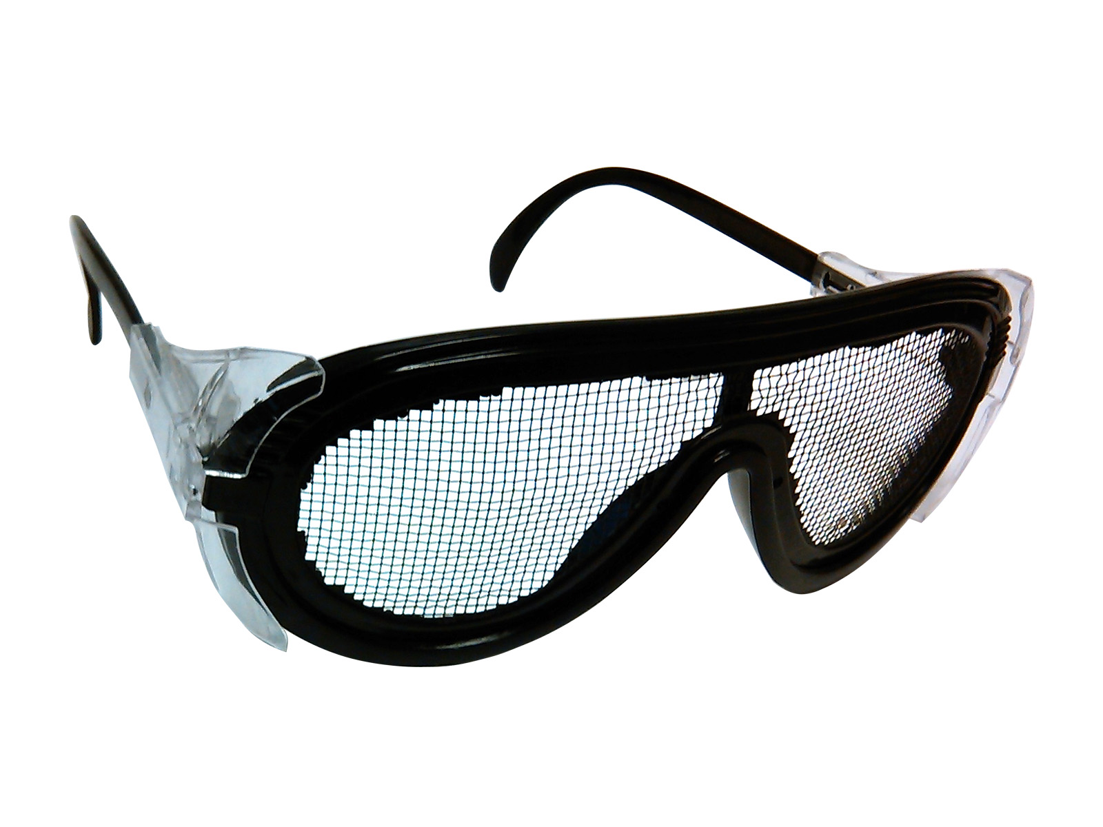 Zenport Safety Glasses SG2635 Wire Mesh Adjustable, Scratch and Fog Free, Eye Protection