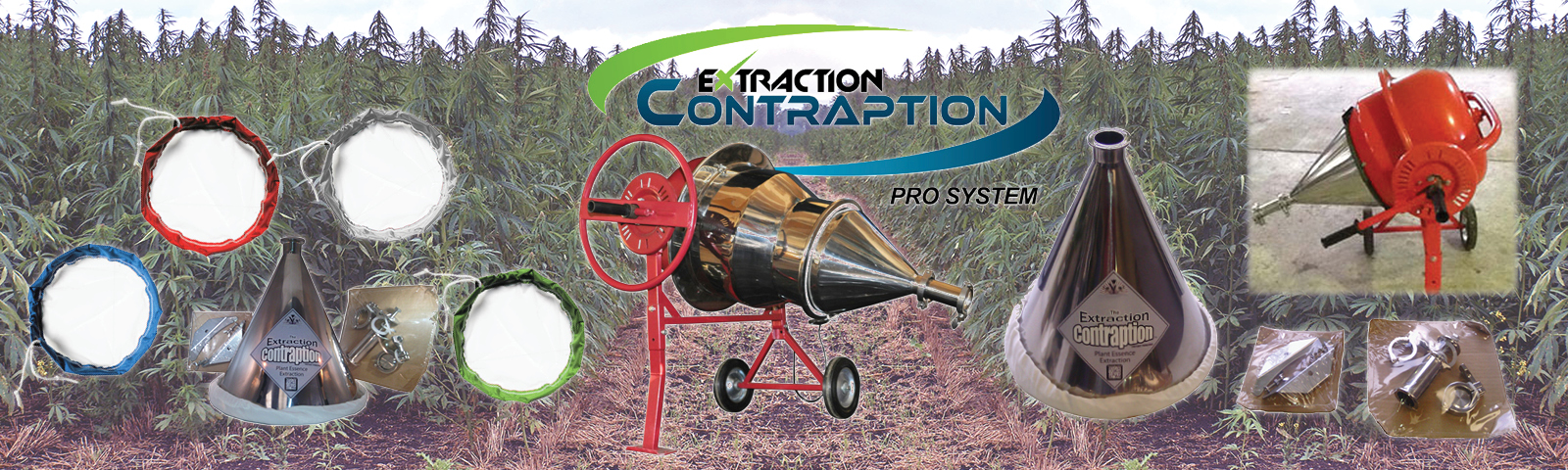 Extraction Contraption CO2 Plant Essence Extractor
