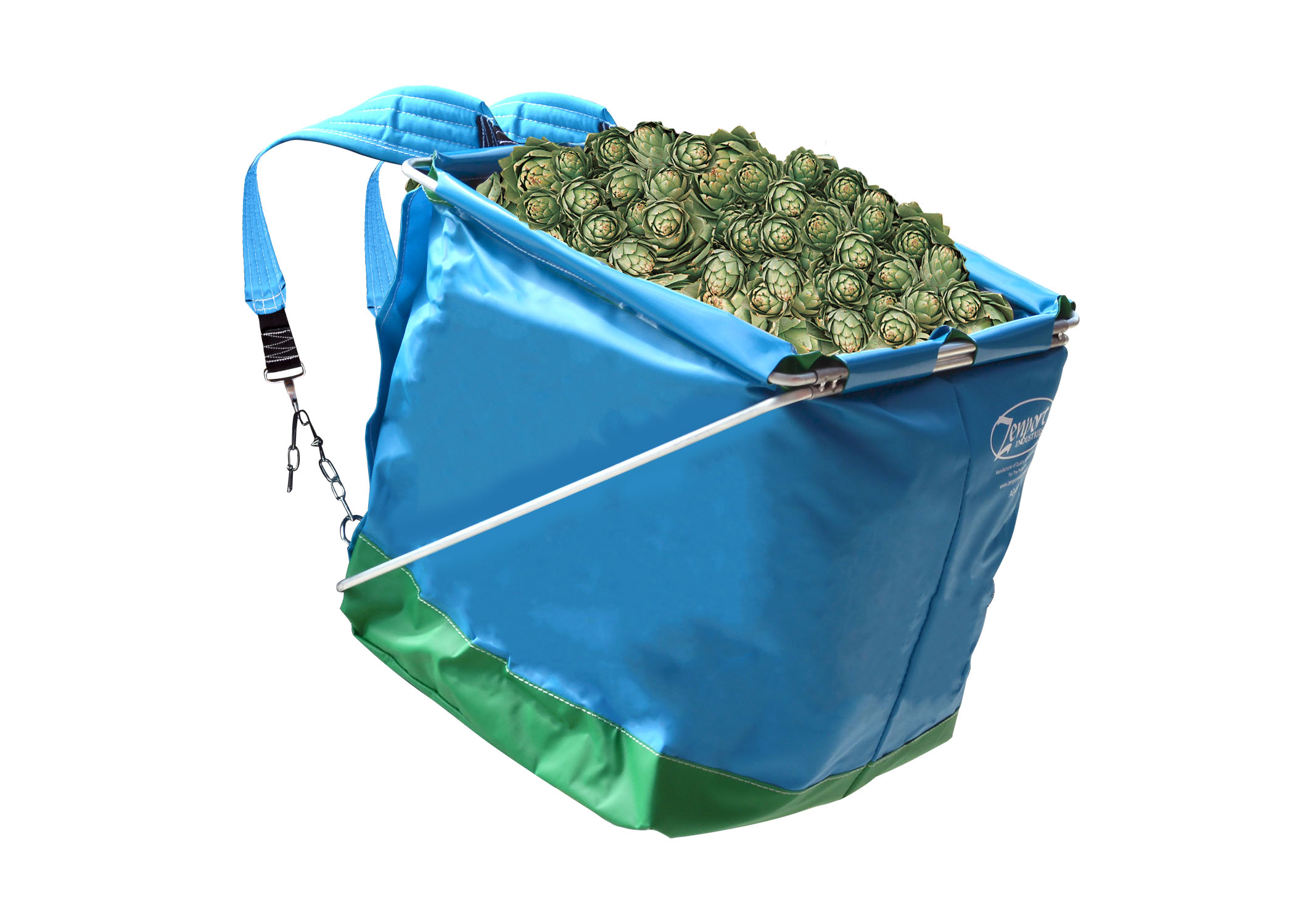Zenport Picking Backpack AG418 AgriKon Vegetable Harvest Backpack, Artichoke Harvesting Pack, Fruit Picking Bag