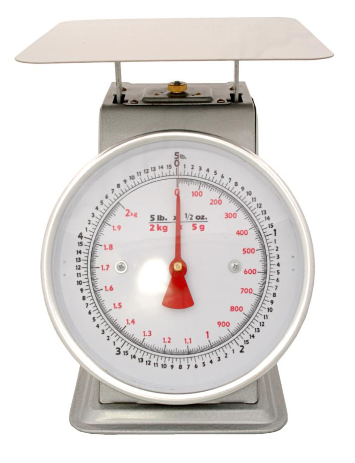 Zenport Accuzen Scale AZD05 Mechanical Platform Dial Scale, 5 Pound, For weighing fruits and vegetables