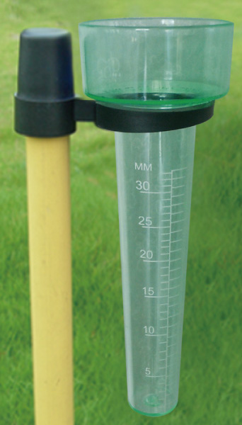 Zenport Garden Rain Gauge GA521 Includes Measuring Tube, Funnel, Bracket