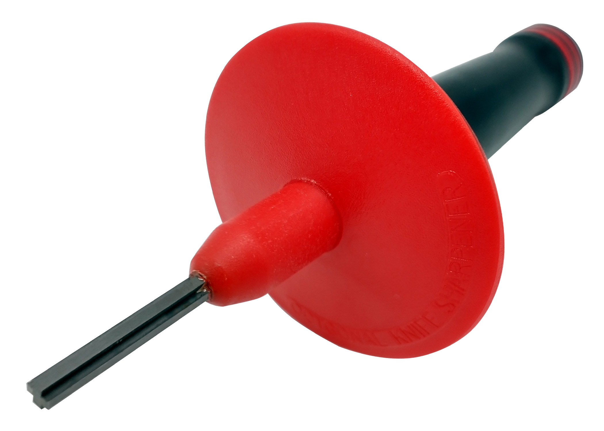 "Zenport Sharpening Tool J31 ""Cross"" Tungsten Carbide Sharpener, Removable Hand Guard"
