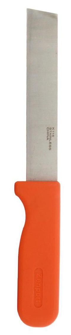 Zenport Produce Knife K116 Row Crop Harvest Knife, Produce, 6-Inch Stainless Steel Blade