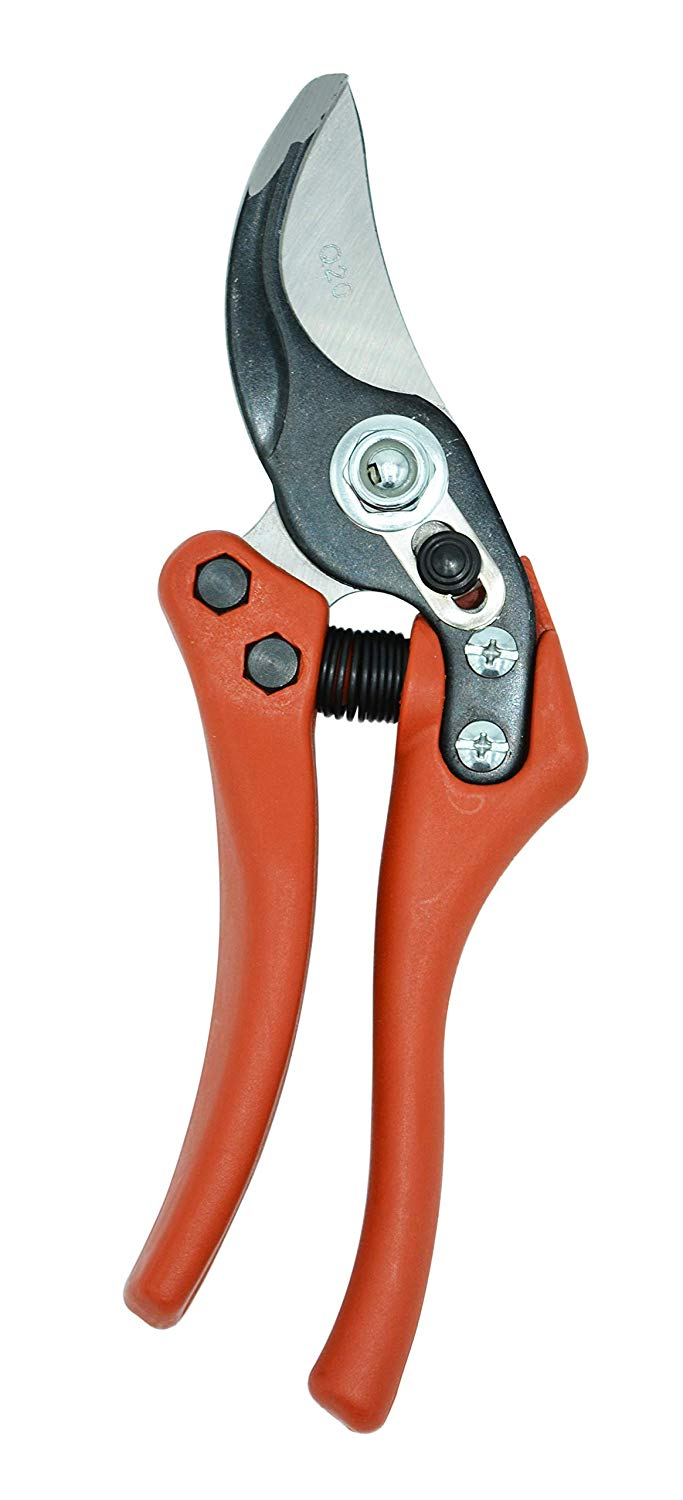 Zenport Pruner Q20 Euro-Pro Small P1-20, .75-inch Cut, 8-Inch Long,