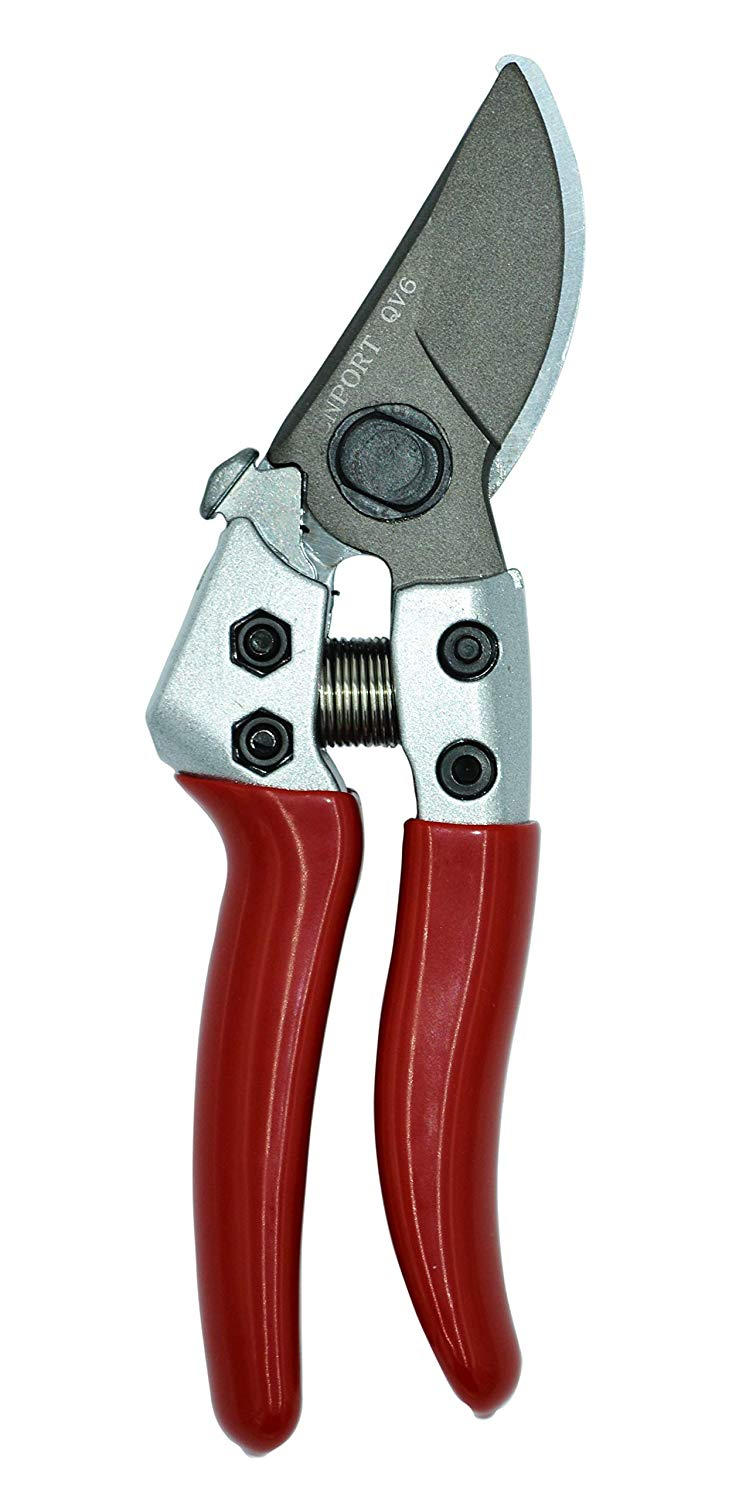 Zenport Pruner QV6 Japanese Squeeze Open Pro, Chrome Plated Blade, Half-Inch Cut, 6-Inch Long