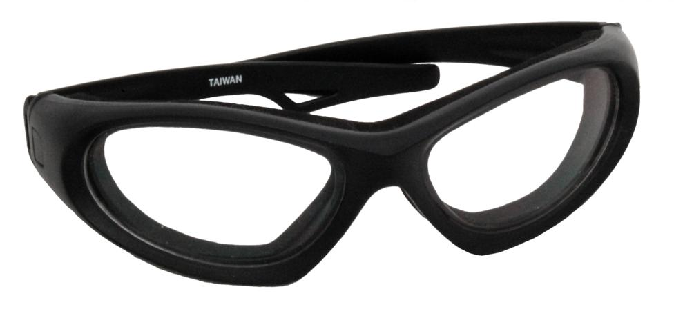 Zenport Safety Glasses SG2661 Sport, Black, Padded, Wrap-Around Style, Eye Protection