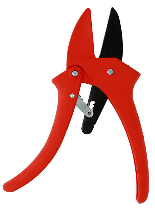 Zenport Pruner ZR110 Ratchet Standard, Easy Cutting Action, .5-Inch Cut, 7-Inch Long