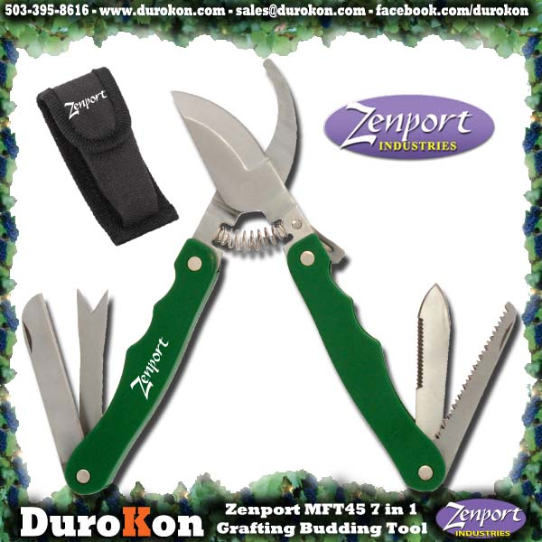 Zenport Multi-Tool MFT45 7 in 1 Grafting Budding Pruning Multi-Tool
