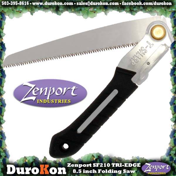 Zenport Saw SF210 8.5 inch Folding Saw w/Steel Handle