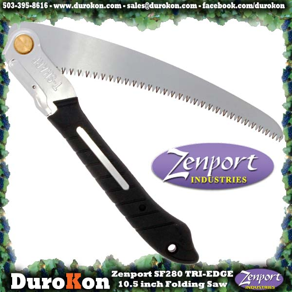Zenport Saw SF280 10.5 inch Folding Saw w/Steel Handle