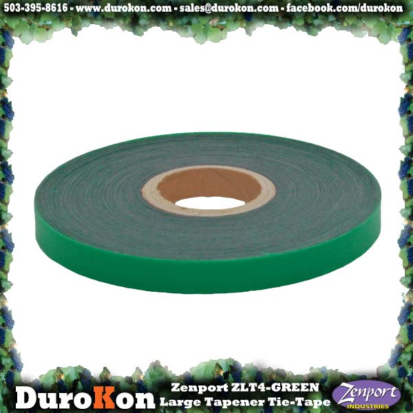 Zenport Tie Tape ZL0014-6MIL Large Tapener Green Plant Tie Tape, 200-Feet, 6-MIL (ZL100/ZL919/MAX HTB2 N)