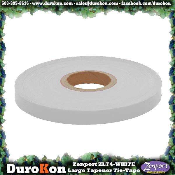 Zenport Tie Tape ZL0015-8MIL Large Tapener White Plant Tie Tape, 180-Feet, 8-MIL (ZL100/ZL919/MAX HTB2 N)